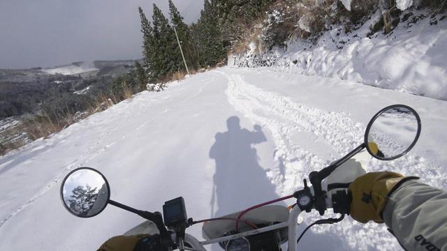 画像6: ホンダ・モンキーバハで雪道を走破せよ!
