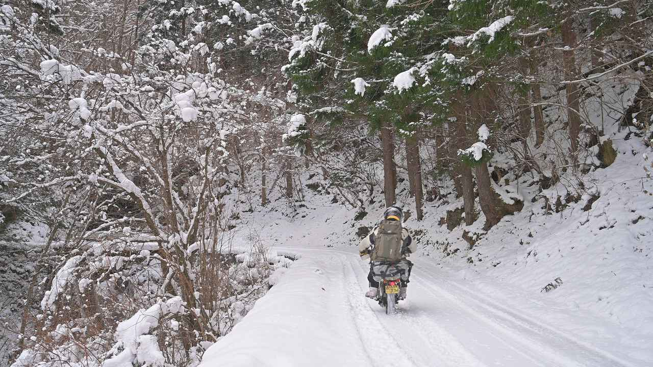 画像7: ホンダ・モンキーバハで雪道を走破せよ!
