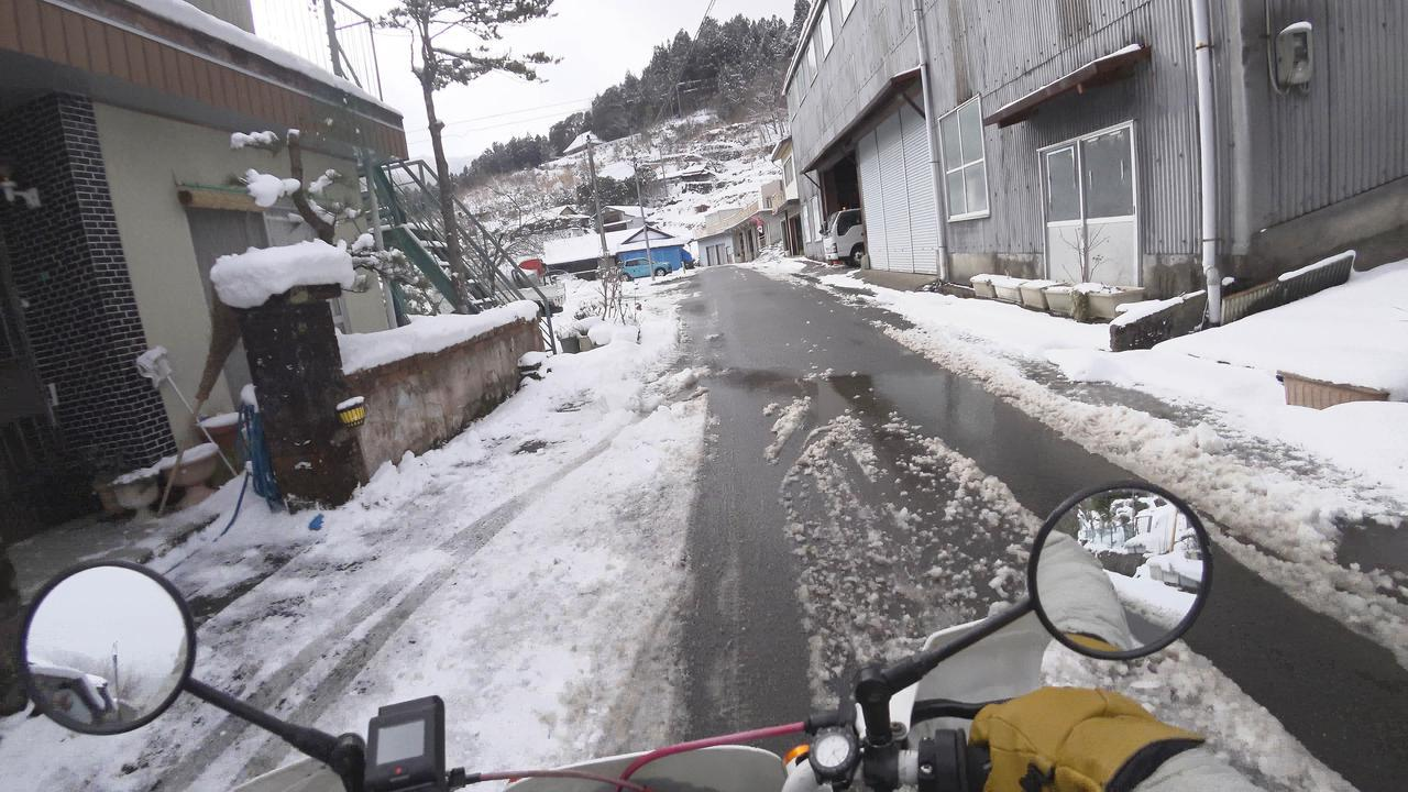 画像4: ホンダ・モンキーバハで雪道を走破せよ!