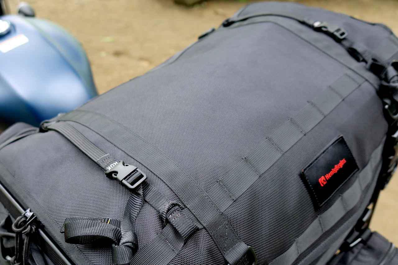 画像12: 自分仕様のキャンプツーリングバッグを作ろう! ヘンリービギンズの「キャンプシートバッグ システム」がかなえる自由な旅