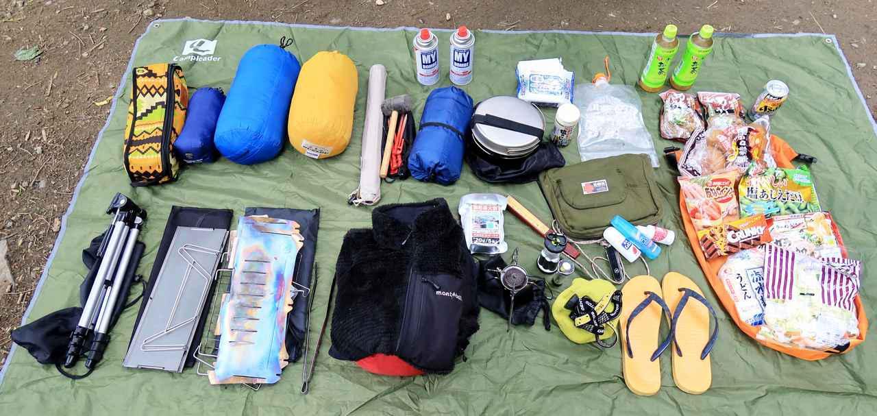 画像2: 「キャンプシートバッグ システム」を使ってGB350でキャンプをしてみた!