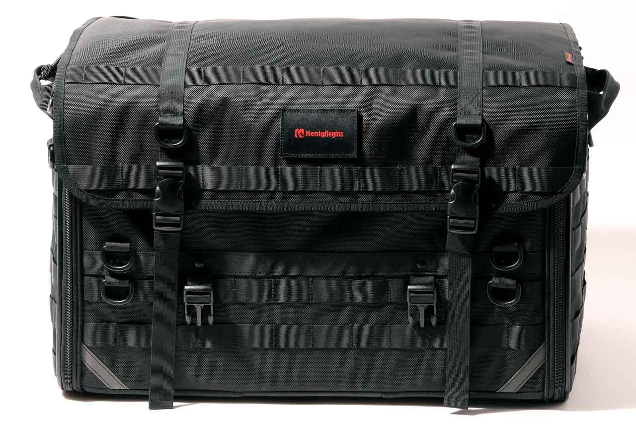 画像1: 「キャンプシートバッグ システム」の構成