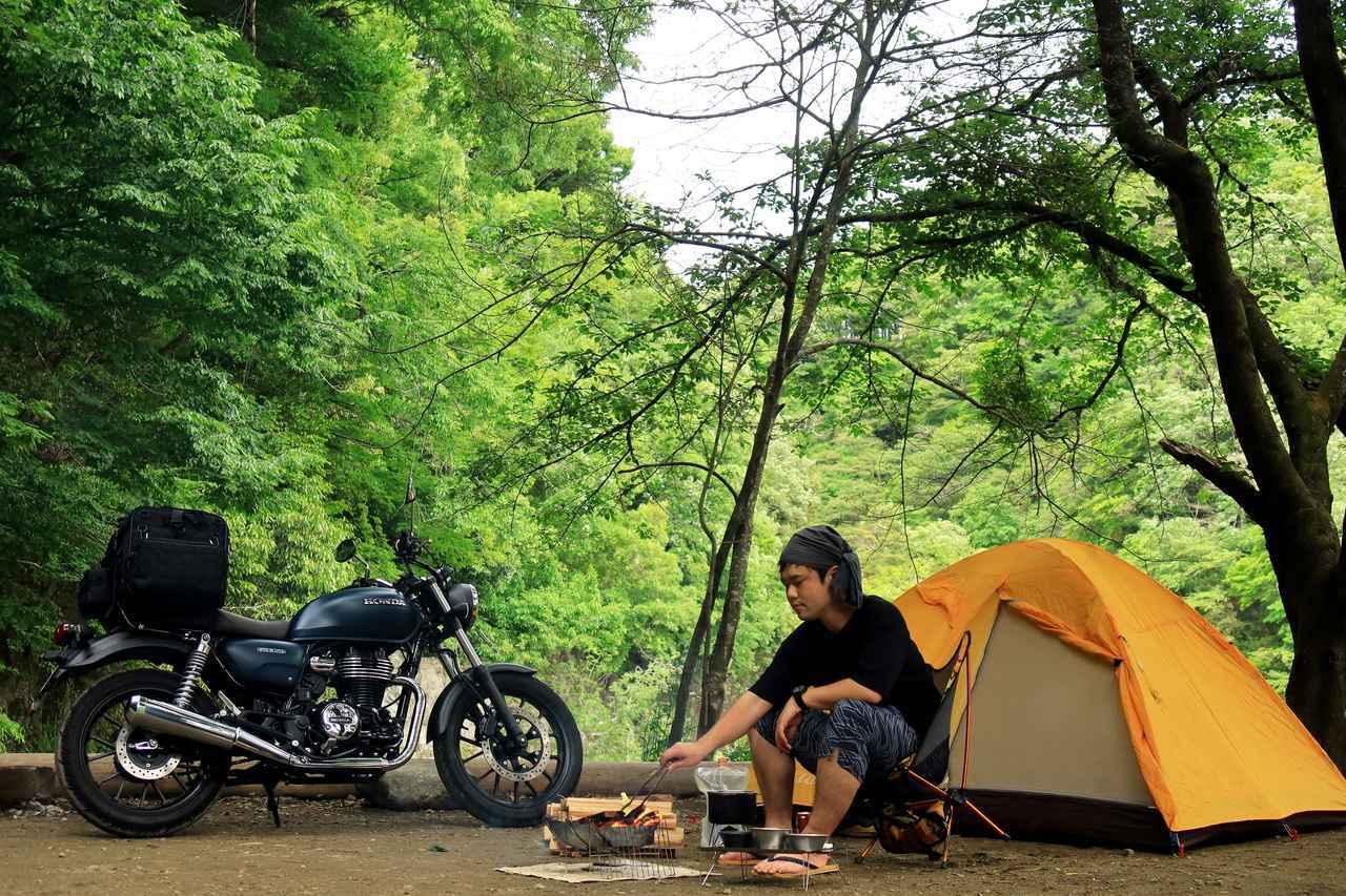 画像1: 【まとめ】「キャンプシートバッグ システム」との旅は、可能性に満ちている