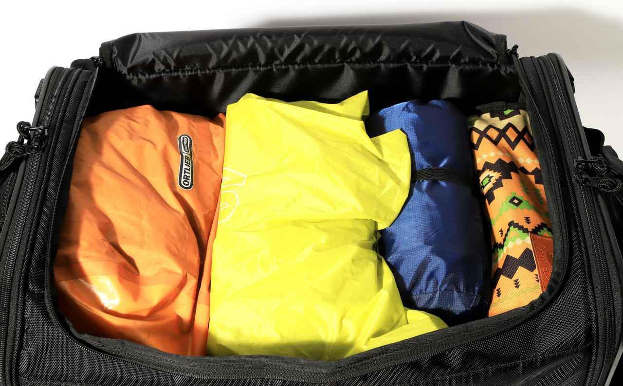 画像3: 「キャンプシートバッグ システム」を使ってGB350でキャンプをしてみた!