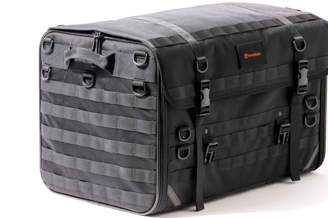 画像2: 「キャンプシートバッグ システム」の構成