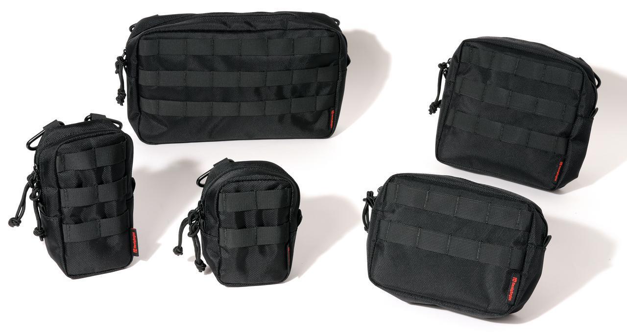 画像3: 「キャンプシートバッグ システム」の構成