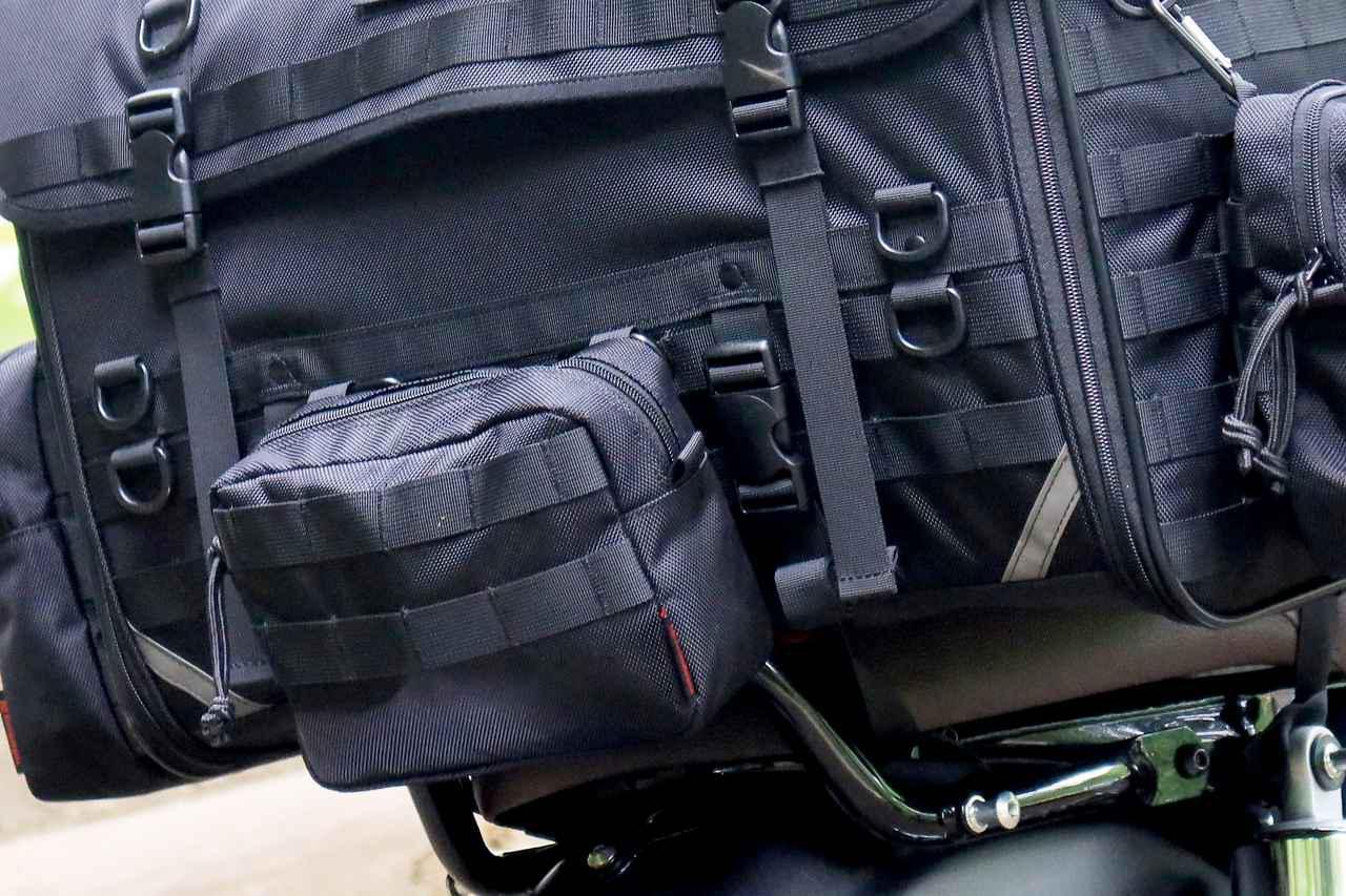 画像10: 自分仕様のキャンプツーリングバッグを作ろう! ヘンリービギンズの「キャンプシートバッグ システム」がかなえる自由な旅
