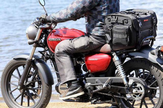 画像2: 【傑作ツーリングバッグ】ヘンリービギンズ「PRO」シリーズを徹底解説! 令和に生まれたシートバッグの新たな王道モデル - webオートバイ