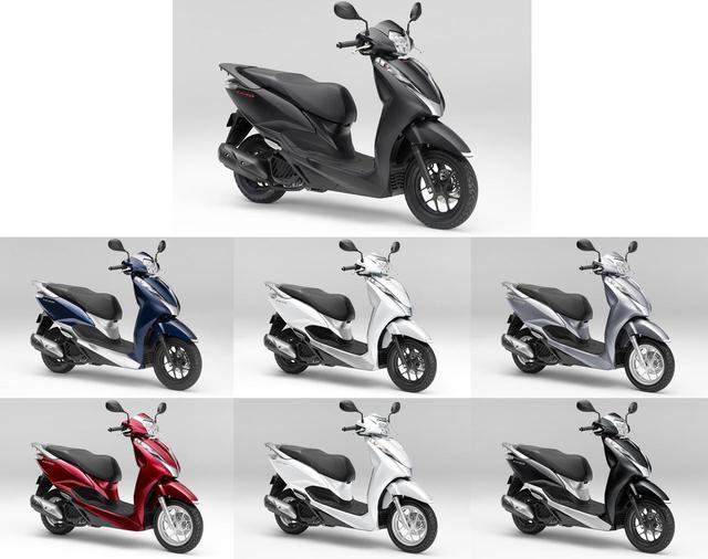 画像: 【人気カラー投票】ホンダ「リード125」 - webオートバイ