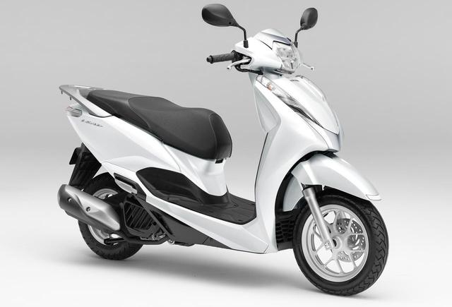 画像: 【写真】ホンダ「リード125」の現行カラーは6色 - webオートバイ