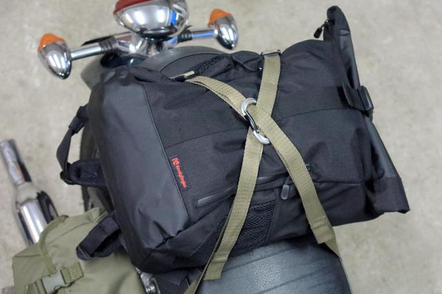 画像1: バイクに積載できれば用途が広がる