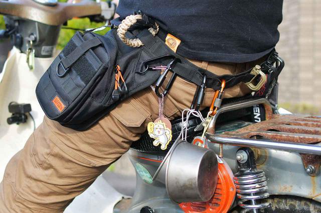 画像: 腰が痛いのは財布のせいかもなので、ホルスターバッグを買ってみた - webオートバイ