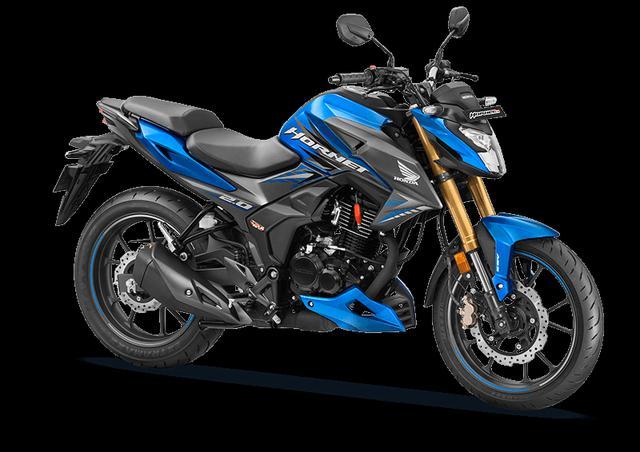画像: Honda HORNET2.0 インド仕様車 総排気量:184cc エンジン形式:空冷4スト単気筒 車両重量:142kg 燃料タンク容量:12L