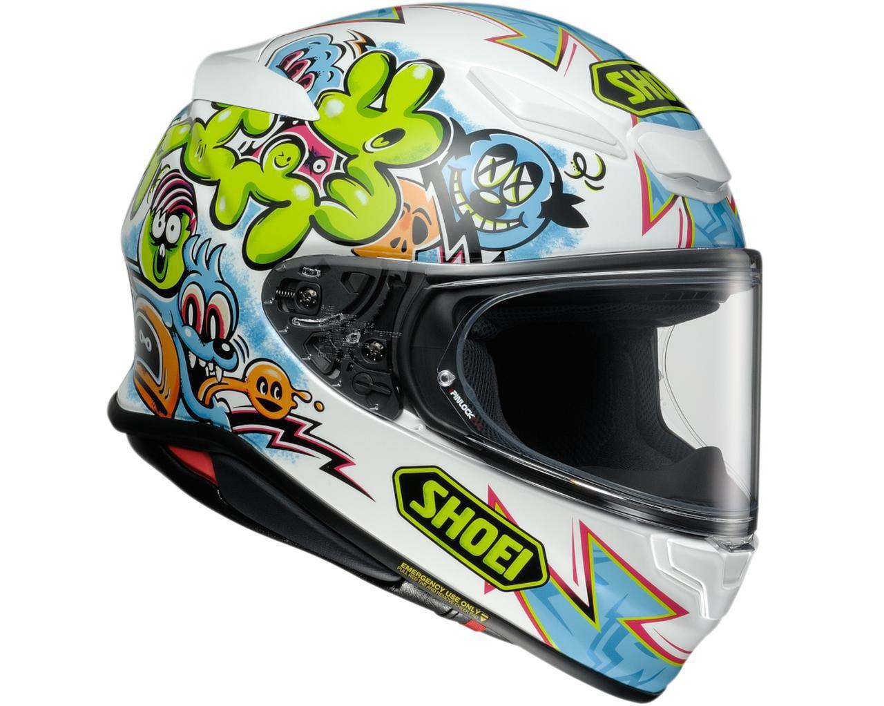 画像14: SHOEIの新型ヘルメット「Z-8」グラフィックモデル・まとめ|2021年5月末までに6モデル計13種のカラーが登場