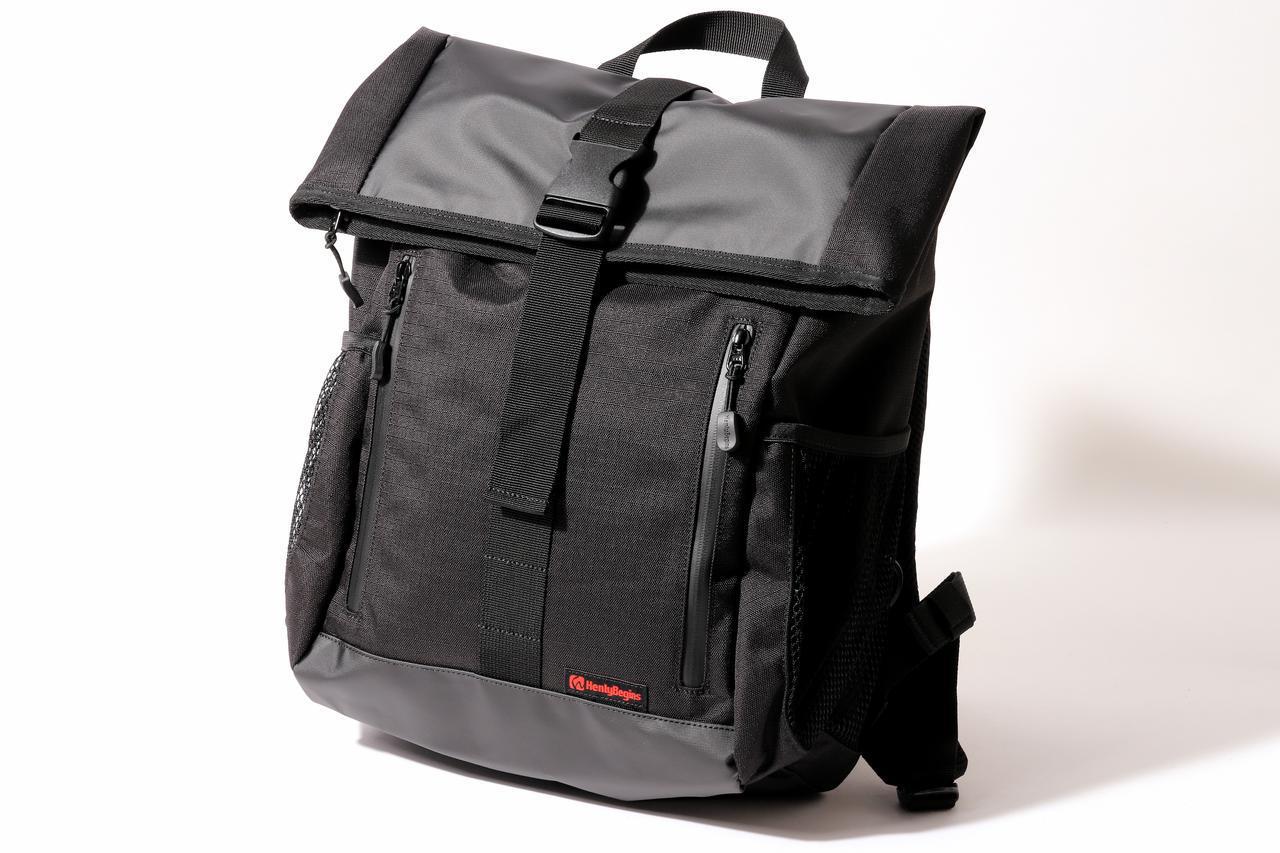 画像2: 毎日使う防水バッグに求めたいのは、たしかな防水性と使い勝手の良さ