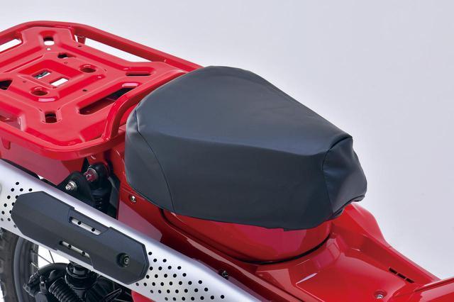 画像: EFFEX GEL-ZAB C 推奨取付車種:CT125・ハンターカブ(JA55)、スーパーカブC125(JA48)、クロスカブ50/110(AA06/JA45)、スーパーカブ(AA09) カラー:ブラック、レッド、タン メーカー希望小売価格:税込1万450円