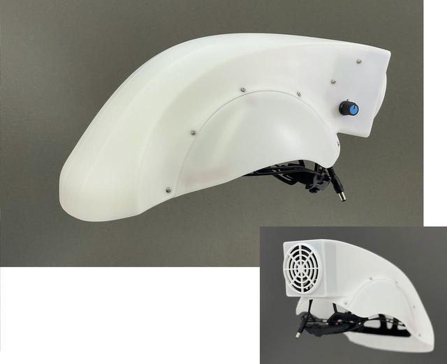 画像: バイク用品が医療器具に? ヘルメットが飛沫感染防止に役立つ? オージーケーカブト製エアシールド - webオートバイ