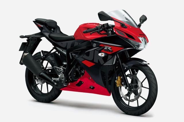 画像: 【写真6枚】「GSX-R125」2021年モデル - webオートバイ