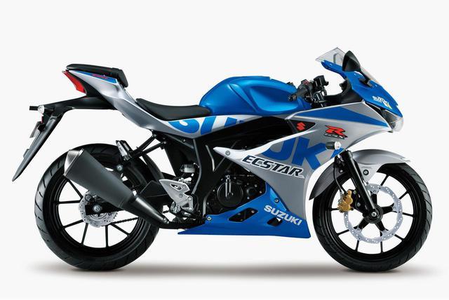画像: 【100周年記念カラー】スズキ「GSX-R125」- webオートバイ