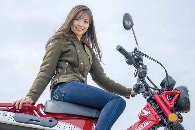 画像: Ruriko オートバイ女子部より参加。愛車はトライアンフDAYTONA 675にCRF250L、さらにGPXのデーモン150GRも所持!