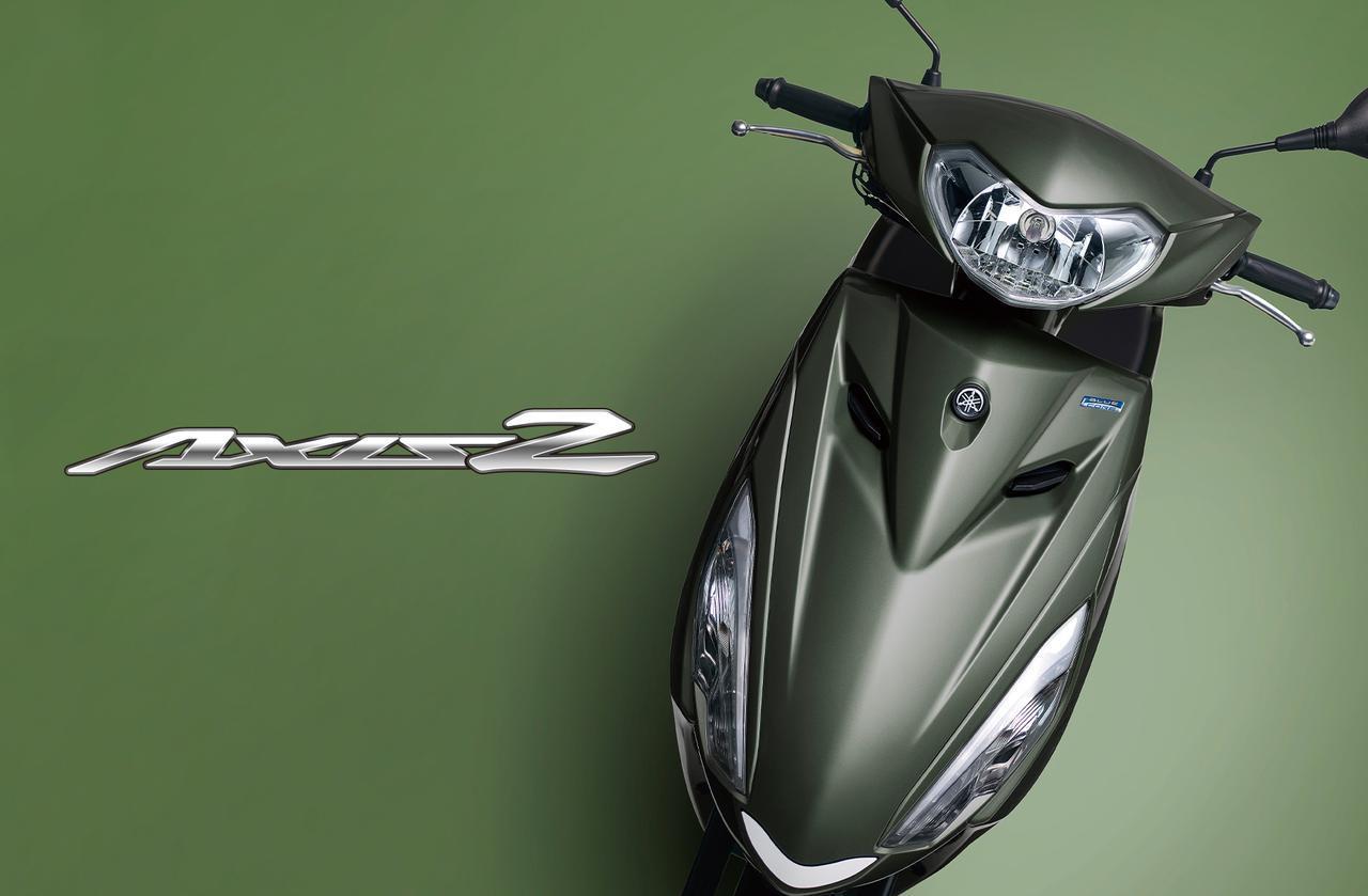 画像: 【人気カラー投票】「アクシスZ」2021年モデルのカラーは5色 - webオートバイ