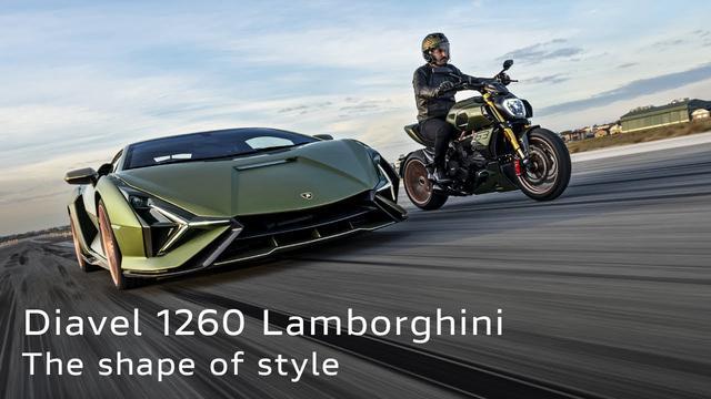 画像: 【動画】New Diavel 1260 Lamborghini | The shape of style www.youtube.com