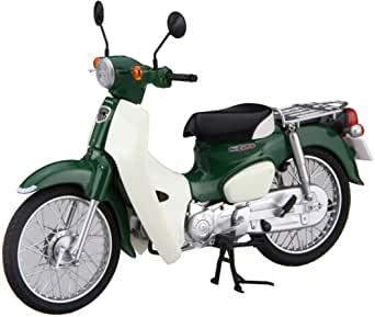 画像: Amazon | フジミ模型 1/12 NEXTシリーズ No.2 ホンダ スーパーカブ110 (タスマニアグリーンメタリック) 色分け済み プラモデル 12NX-2 | プラモデル 通販