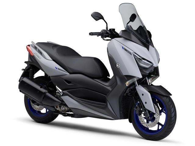 画像: YAMAHA XMAX ABS 総排気量:249cc エンジン形式:水冷4ストSOHC4バルブ単気筒 シート高:795mm 車両重量:179kg 発売日:2021年7月28日(水) 税込価格:65万4500円