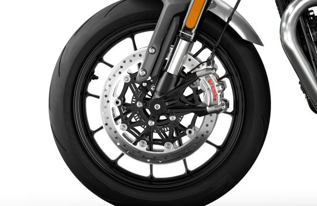 画像4: トライアンフ新型「スピードツイン」の特徴