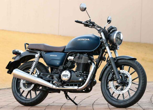 画像: Honda GB350 総排気量:348cc エンジン形式:空冷4ストOHC単気筒 シート高:800mm 車両重量:180kg 発売日:2021年4月22日(木) 税込価格:55万円