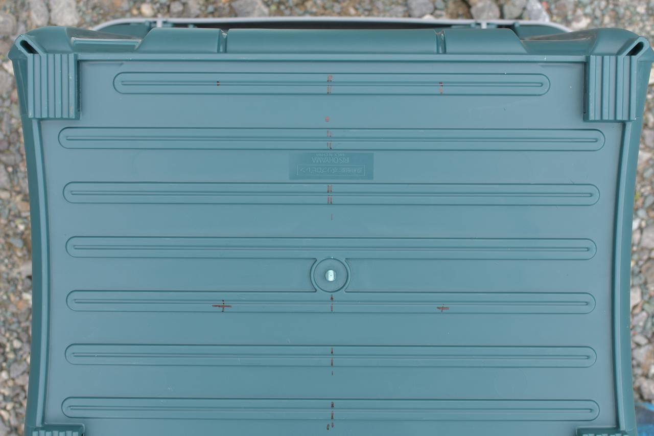 画像4: ⑤穴あけ位置をマーキング。