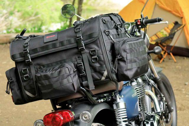 画像: 自分仕様のキャンプツーリングバッグを作ろう! ヘンリービギンズの「キャンプシートバッグ システム」が叶える自由な旅 - webオートバイ