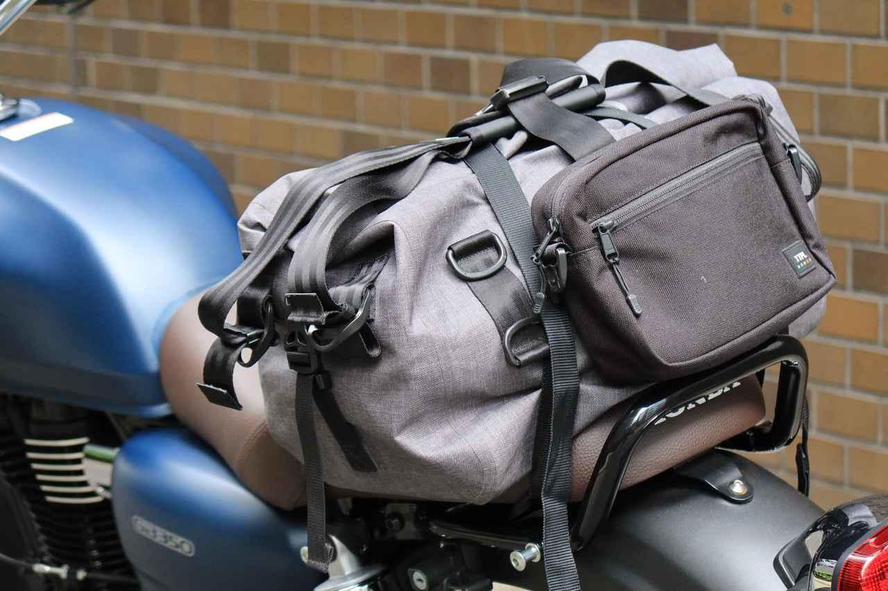 Images : 5番目の画像 - それぞれのバッグの積載写真(2枚ずつ) - webオートバイ