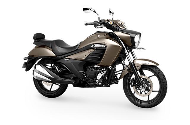 画像: SUZUKI INTRUDER インド仕様車 総排気量:155cc エンジン形式:空冷4ストSOHC単気筒 シート高:740mm 車両重量:152kg 写真のカラーは、メタリックマットチタニウムシルバー
