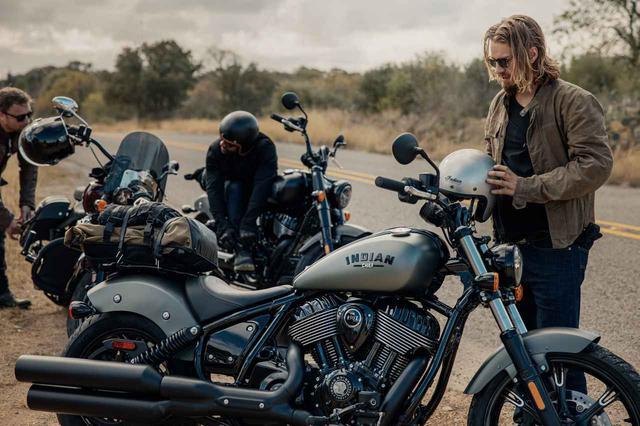 画像1: 誕生から百年、インディアンの新たな「チーフ」に込められた想いとは【新型「チーフ」デザイン責任者インタビュー】 - webオートバイ