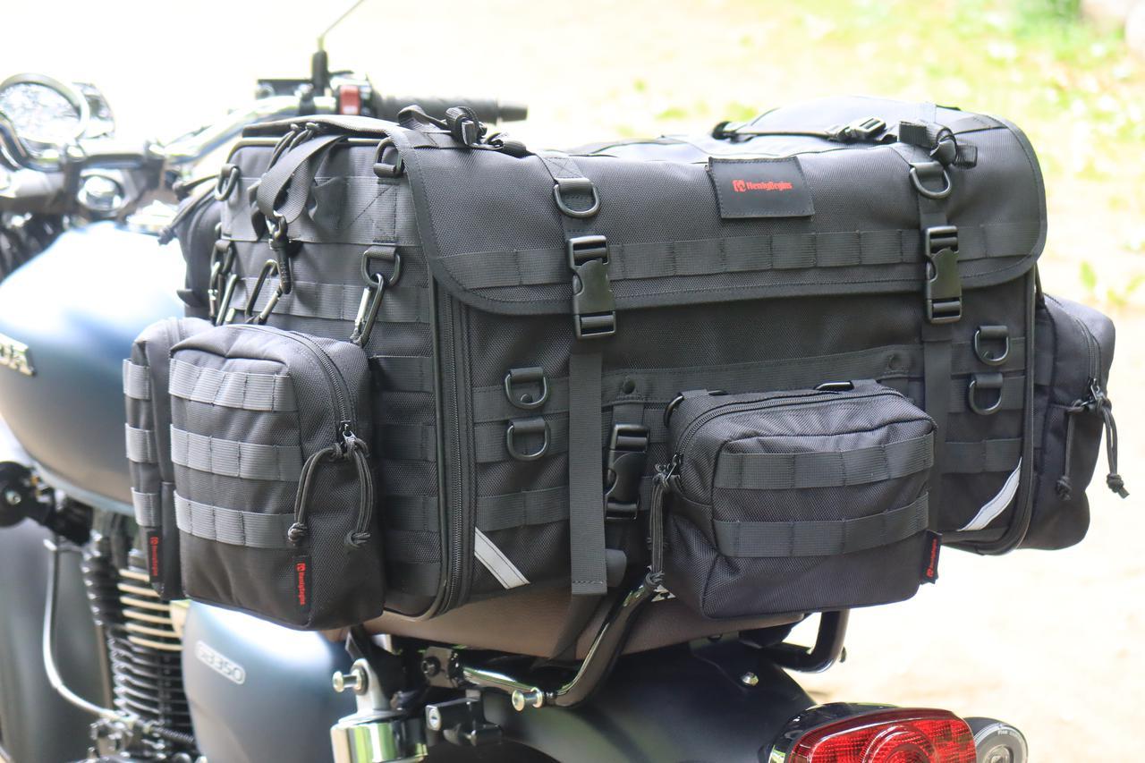 Images : 4番目の画像 - それぞれのバッグの積載写真(2枚ずつ) - webオートバイ