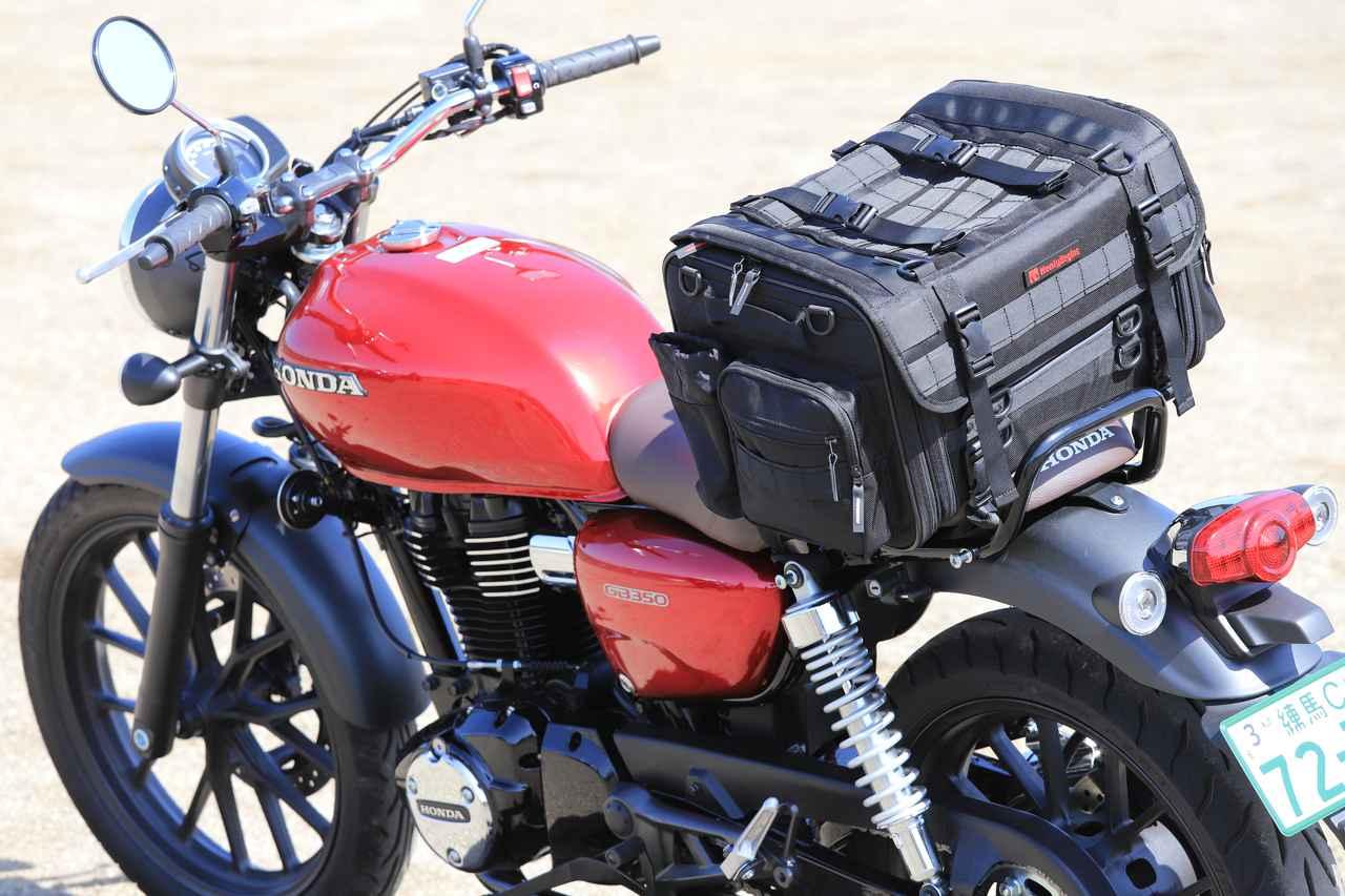 Images : 2番目の画像 - それぞれのバッグの積載写真(2枚ずつ) - webオートバイ