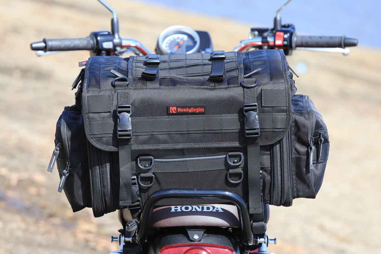 Images : 1番目の画像 - それぞれのバッグの積載写真(2枚ずつ) - webオートバイ