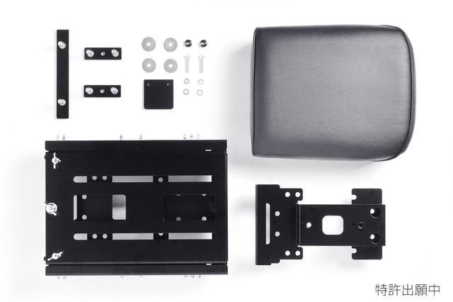 画像: シートはホンダ純正タンデムシートセットとタケガワ製タンデムシートセットの2パターンを用意。
