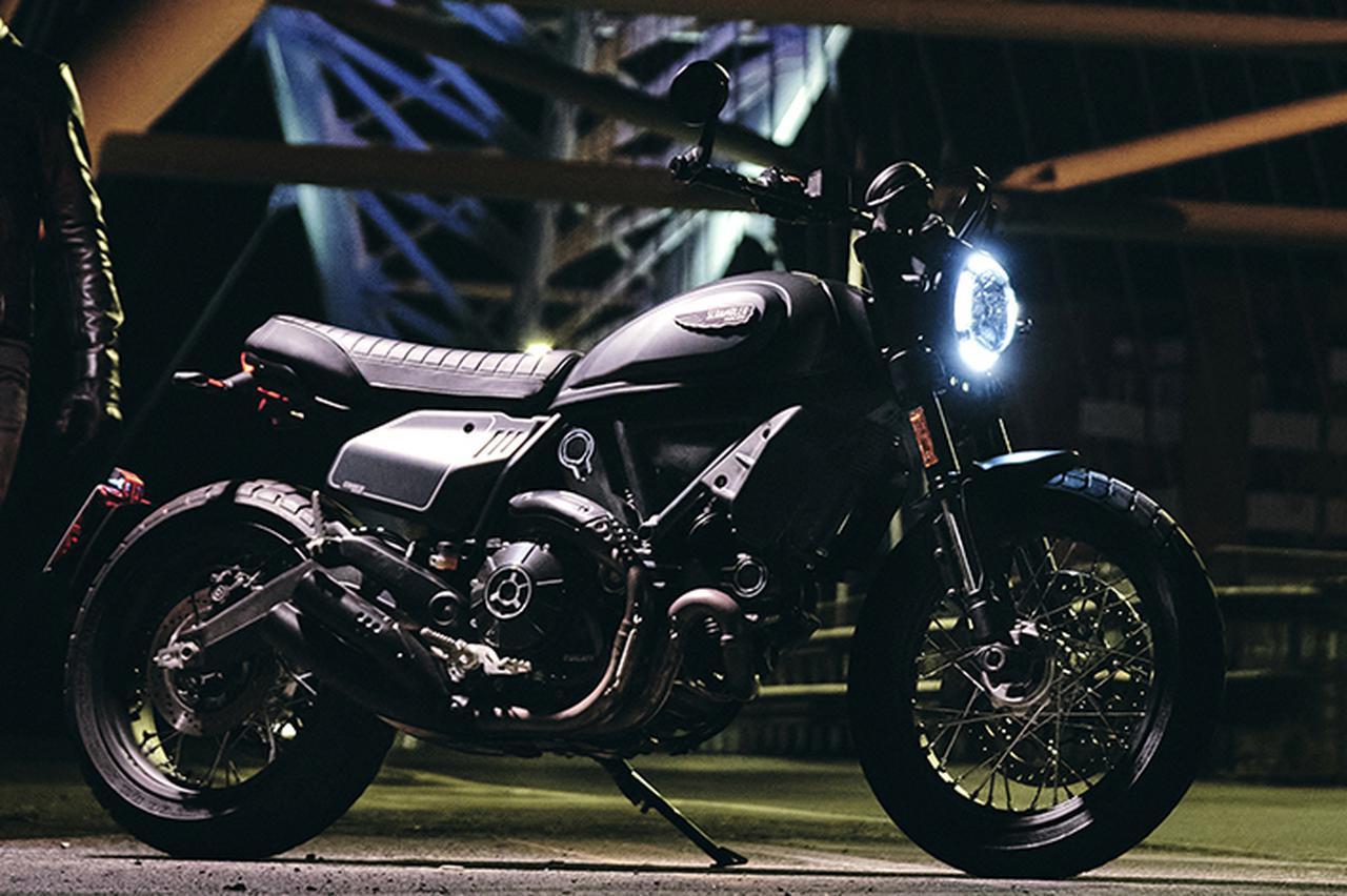 画像: ドゥカティ「スクランブラー・ナイトシフト」が国内デビュー - webオートバイ