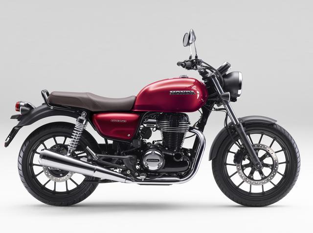 画像2: ホンダ「GB350」梅本まどかの試乗レビュー|バイクらしいカタチがいい! 足つき性や取り回しもチェック