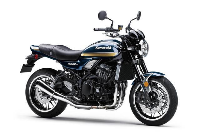 画像: Kawasaki Z900RS 北米市場2022年モデル