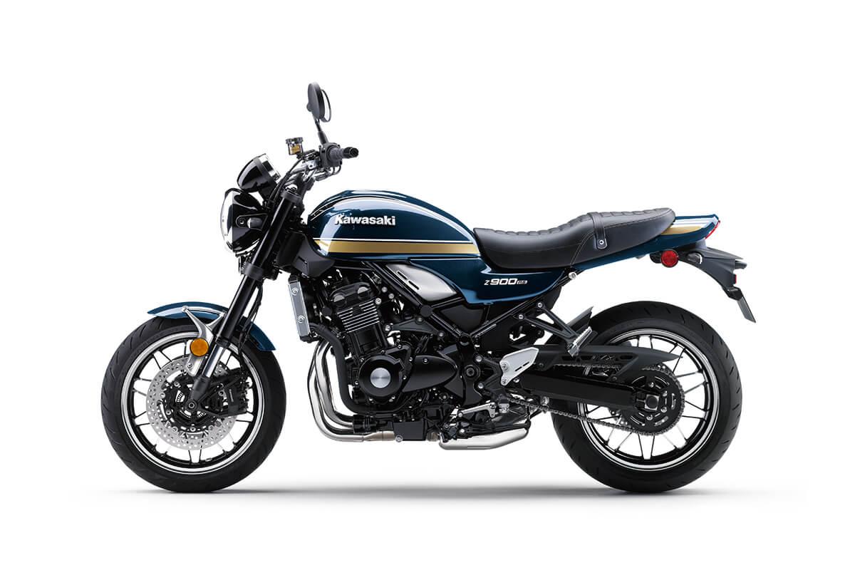 画像1: カワサキ「Z900RS」の新色は伝統の〈玉虫〉カラーか? 北米向け2022年モデルとして「Z900RSカフェ」の新色とともに登場