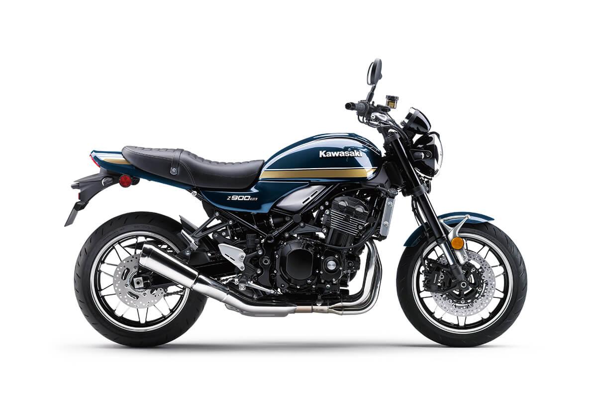 画像2: カワサキ「Z900RS」の新色は伝統の〈玉虫〉カラーか? 北米向け2022年モデルとして「Z900RSカフェ」の新色とともに登場