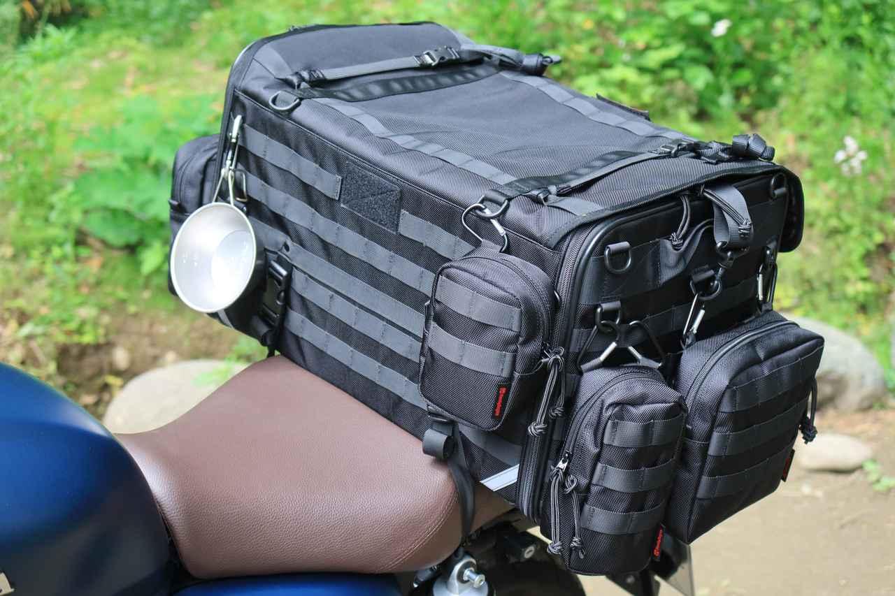 Images : 3番目の画像 - それぞれのバッグの積載写真(2枚ずつ) - webオートバイ