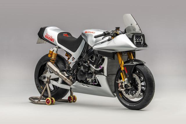 画像1: GSX-R1000のSBKレーサーがカタナに大変身!