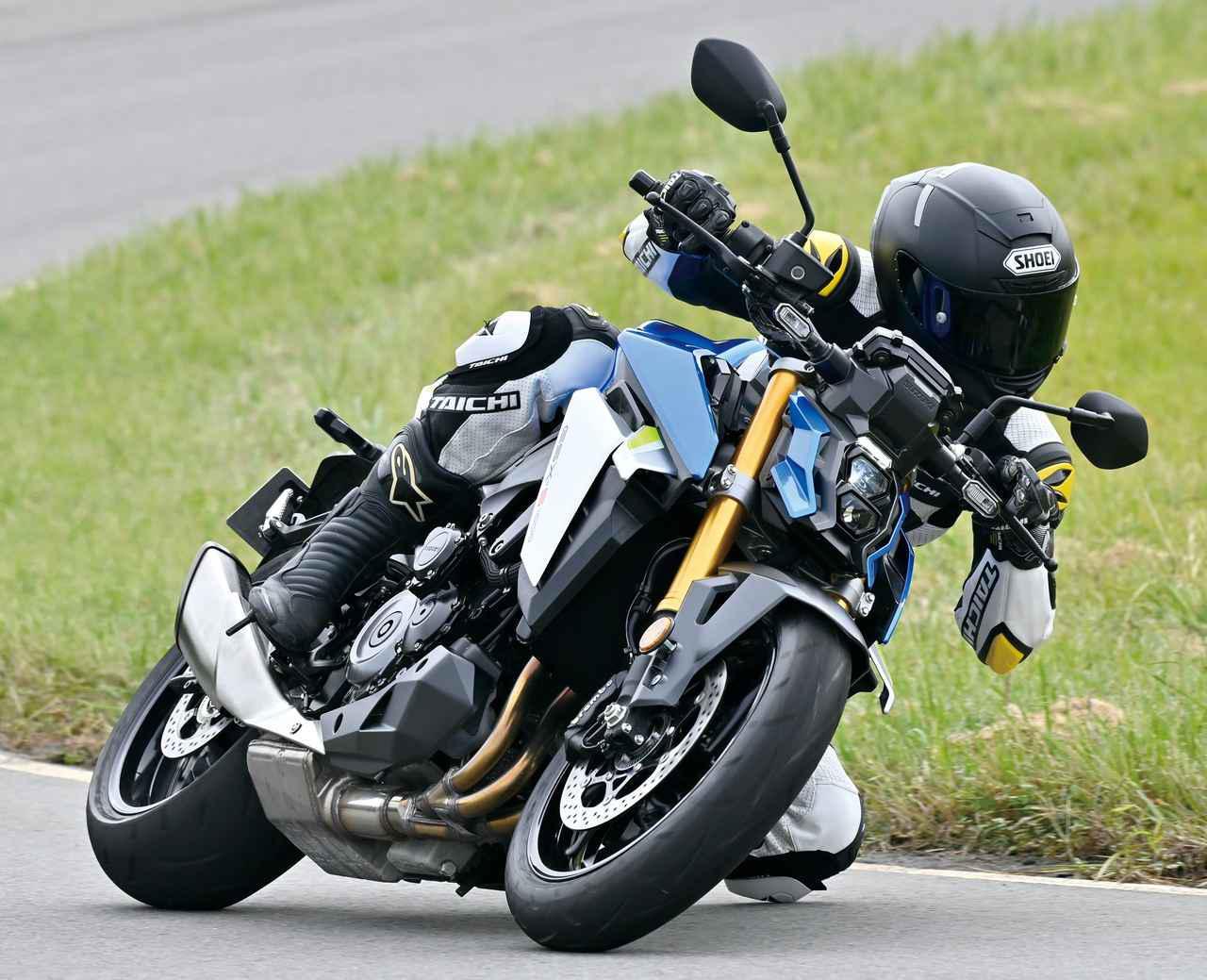 画像: SUZUKI GSX-S1000 総排気量:999cc エンジン形式:水冷4ストDOHC並列4気筒 シート高:810mm 車両重量:214kg 国内発売日:未定 税込価格:未定
