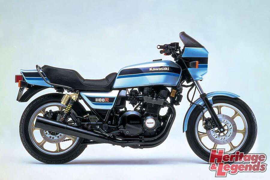 洗練されたカワサキ角Zの歴代モデル02