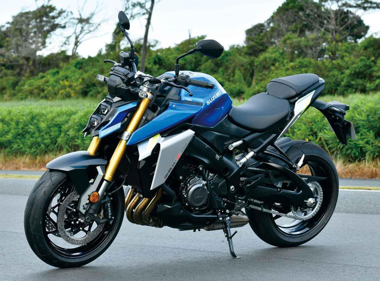画像: スズキ新型「GSX-S1000」の特徴