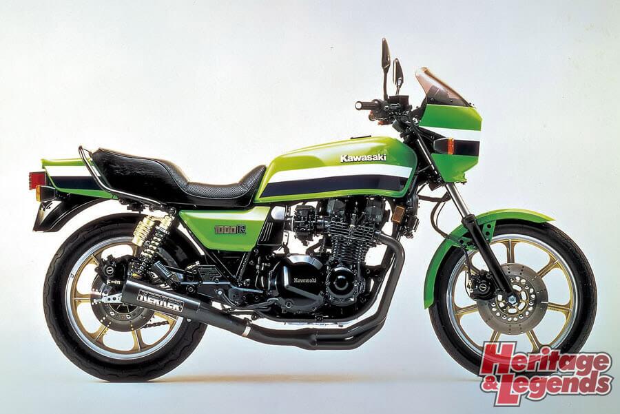 洗練されたカワサキ角Zの歴代モデル10